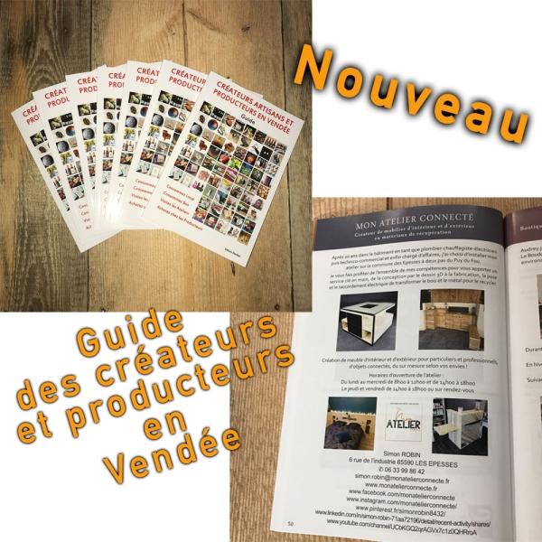 Guide des créateurs artisans et producteurs en Vendée